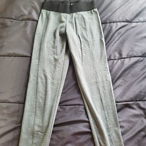 Mossimo small stretch leggings Gray black